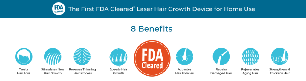Hairmax Medical Lasers Mor Medikal